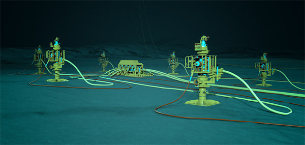 Subsea Connect – lower costs, improve productivity, and increase yield (illustration: Baker Hughes)