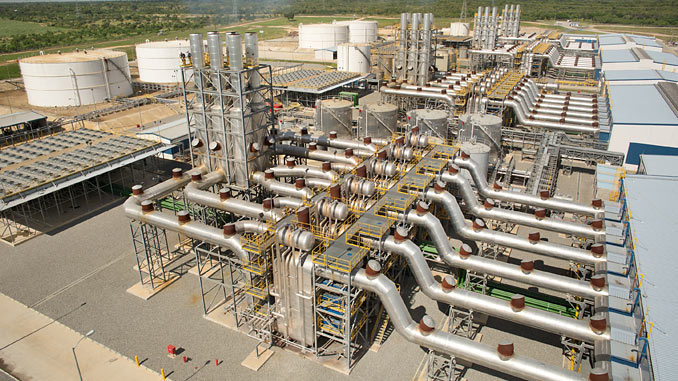 The Quisqueya 2 power plant to be converted to natural gas operation
