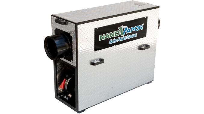 NanoVapor gas-freeing fuel tank technology