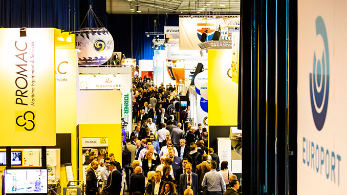 Europort 2019 featured over 1,000 exhibitors and a record number of international visitors