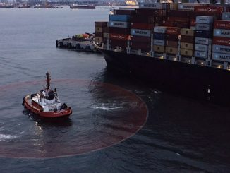 Following successful installation of a first-of-its-kind Dynamic Positioning (DP) system onboard the harbour tug 'PSA Polaris', trials are now being carried out in the Port of Singapore under real-world conditions