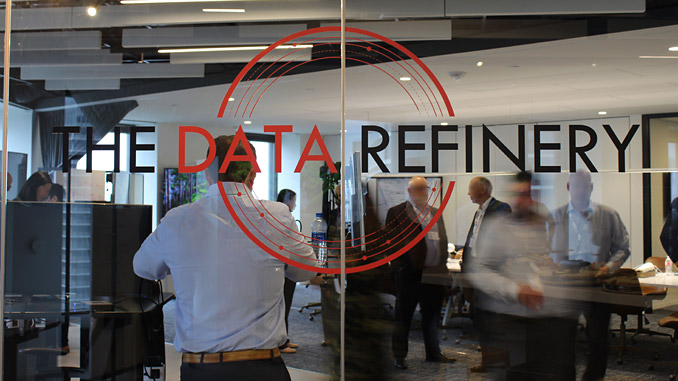 The Data Refinery is located in an iconic building at 1600 Smith St. in downtown Houston, Texas (photo: Worley/Arundo)