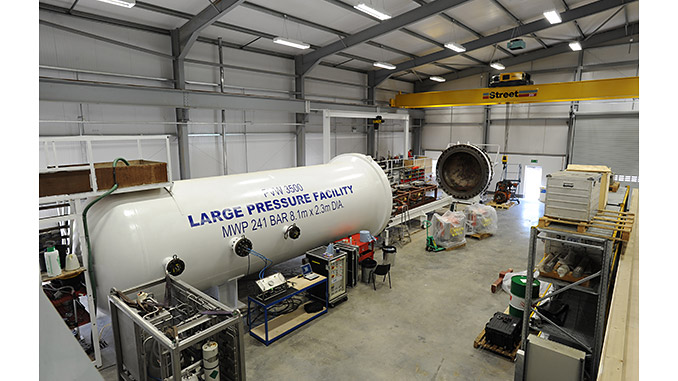 A 3-month upgrade to Forum's hyperbaric testing facility has resulted in an operational time saving to clients of more than 35%