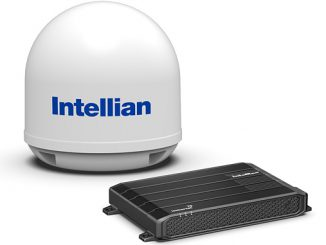 Intellian's new FleetBroadband 250 terminal