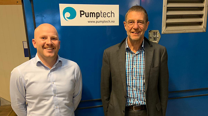 Ryan Thomson, Country Manager and Richard Charles, Flexibles Division Manager & Global Sales Manager