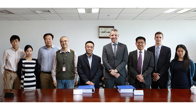 Subsea 7 and COOEC contract signing