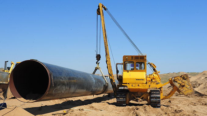 The TAPI pipeline will be 1,814 km long and run from Turkmenistan, through Afghanistan and Pakistan, to India