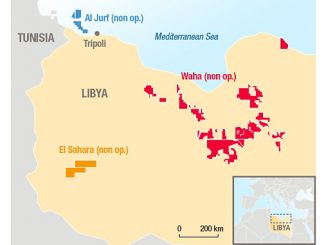 Total E&P Libya producing assets