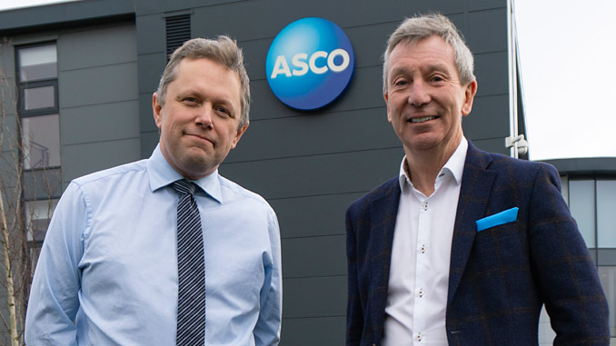 From left, Peter Hollister and Chris Lloyd (photo: ASCO)