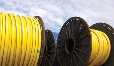"""The """"spoolable"""" nature of the of flexible pipe can bring significant savings to the total installed cost of both flowlines and risers (photo: Baker Hughes)"""