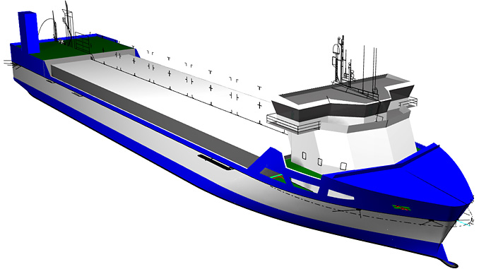 Three LNG fuelled short-sea vessels for Bore Ltd will be equipped with optimised Wärtsilä integrated LNG systems