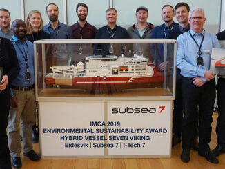 Reduced emissions, improved efficiency – 'Seven Viking' wins the IMCA Environmental Sustainability Award