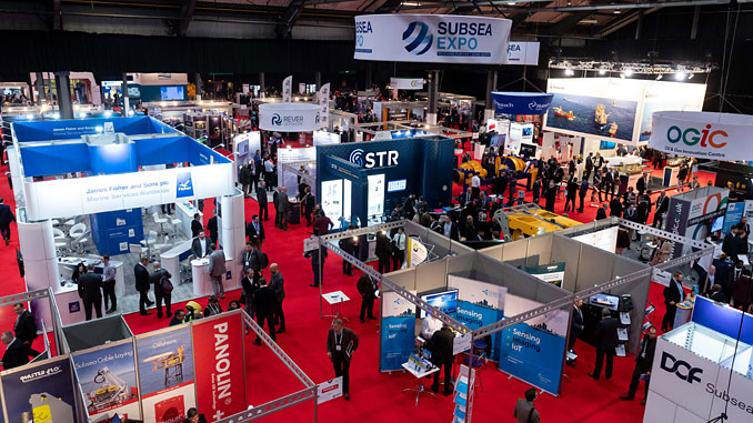 New Perspectives – theme of the 3-day Subsea Expo exhibition and conference (photo: Subsea UK)