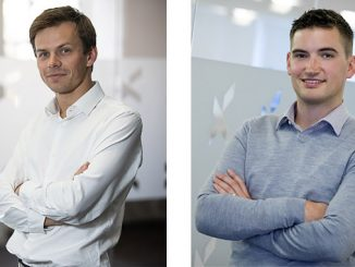 Przemek Marek, at left, and Rob Clayton will offer energy yield analysis services across all stages of wind farm development, both offshore and onshore (photos: Xodus Group)