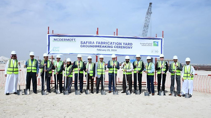 McDermott is building a state-of-the-art facility spanning 1.2 million square metres that will include offices, pre-fabrication shops, blasting and painting shops and large assembly shops capable of fabricating platforms and modules for both offshore and onshore projects