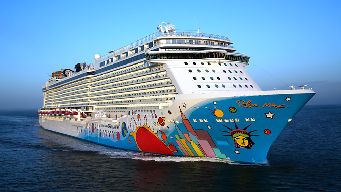 Wärtsilä will supply customised Hybrid Scrubber systems that meet and exceed the latest emissions legislation to two Norwegian Cruise Line ships (photo: Norwegian Cruise Line)
