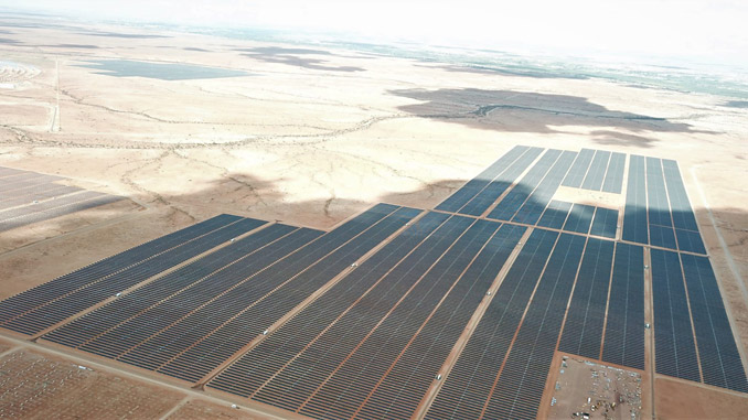 The 86 MW Dyason's Klip 1 in Upington, South Africa