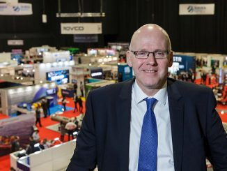 Subsea UK's Chief Executive Neil Gordon at Subsea Expo in 2020
