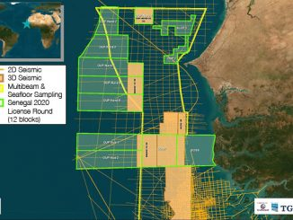 3D survey offshore Senegal, SN-UDO-19 (illustration: GeoParters/PGS/TGS)