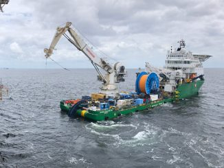 Airborne Oil & Gas' DNV GL qualified TCP technology on the back of a vessel ahead of deployment