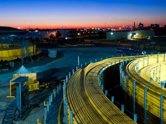 Aker Solutions umbilicals in Mobile, Alabama