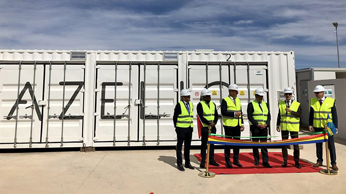 Azelio inaugurates its renewable energy storage with 24-hour clean power production at Noor Ouarzazate solar complex in Morocco