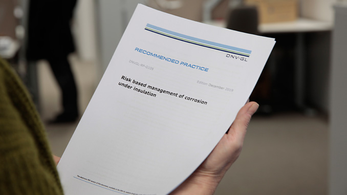 DNVGL-RP-G109 was developed to deliver a practical and cost-effective methodology for managing the threat of CUI and is setting a new standard for managing CUI risk