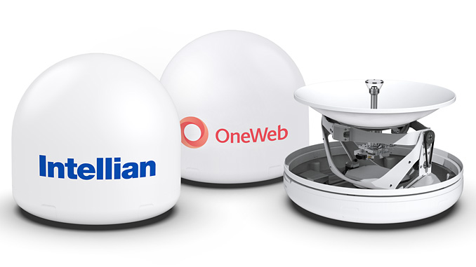 Intellian will manufacture a range of antennas for OneWeb's constellation of LEO satellites