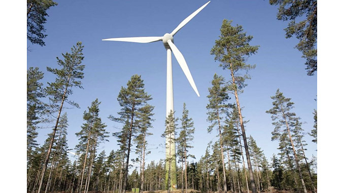 MLK wind farm project in mid Finland