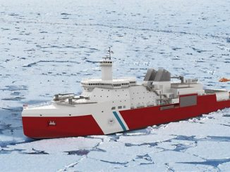 Polar Security Cutter – MacGregor to supply anchor windlass, mooring winches and capstans, main towing winch, offshore cranes, oceanographic winch, hanger overhead crane and cargo access equipment