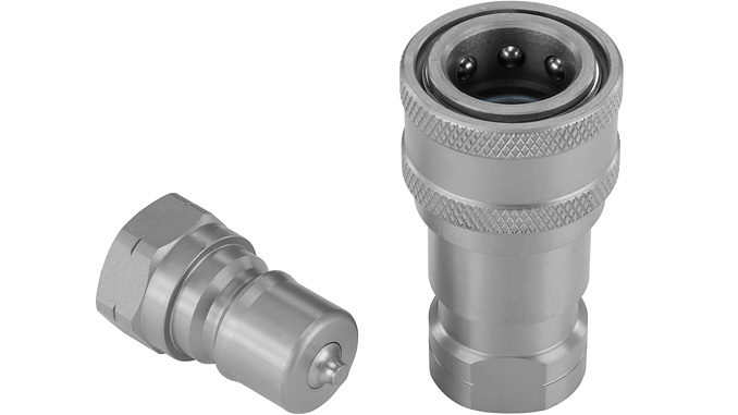 With the QRC-IB, Stauff presents the revised version of the universal, standard-compliant plug-in couplings for industrial hydraulics. A zinc-nickel coating provides effective corrosion protection