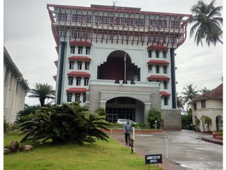 The Administration Building of the Cochin Port Trust, which houses the Wärtsilä VTMS control tower