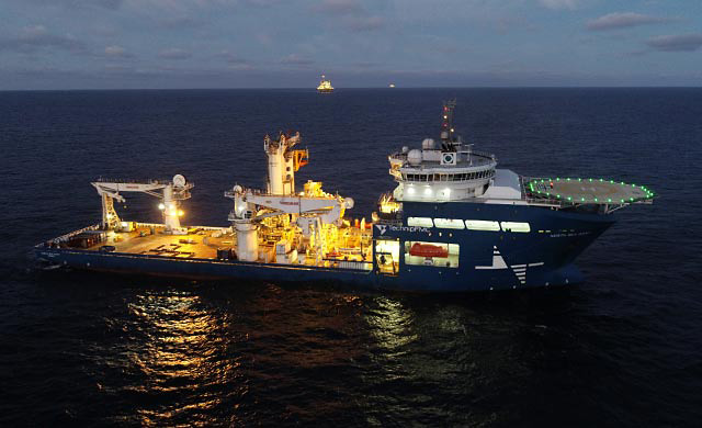 Because of her size and power system, 'North Sea Giant' can perform several different jobs in a single deployment (photo: North Sea Shipping)