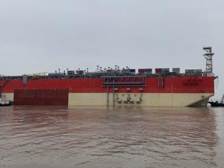 Karish Project FPSO hull set sail from China