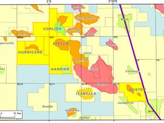 Block 30/12d in the UK Central North Sea (illustration: Ithaca Energy Limited)