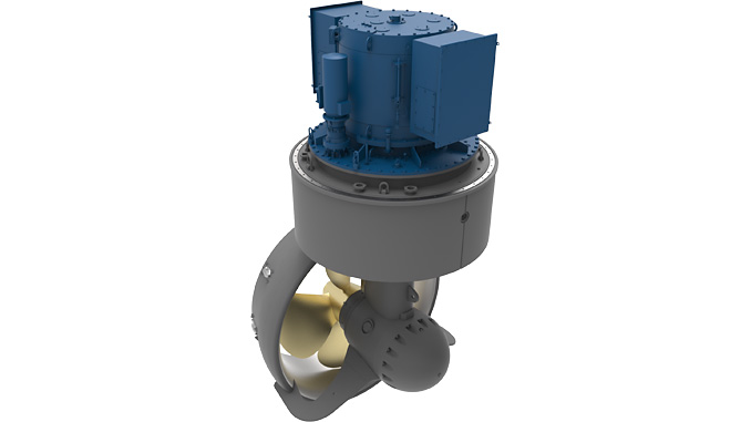 Two Kongsberg Maritime US255 L PM FP azimuth thrusters will provide unrivalled manoeuvrability
