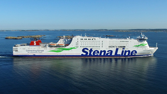 'Stena Germanica' has been successfully operating with a Wärtsilä engine burning methanol fuel for 5 years