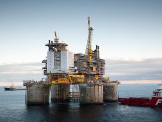 Troll B has produced more than one billion barrels of oil, and planning is now under way for another 10 years of value creation (photo: Equinor/Øyvind Hagen)