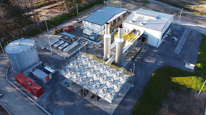New power plant in Benndale, USA, with two Wärtsilä 31SG engines as prime movers will provide flexible power generation as Cooperative Energy expands renewable energy in the future