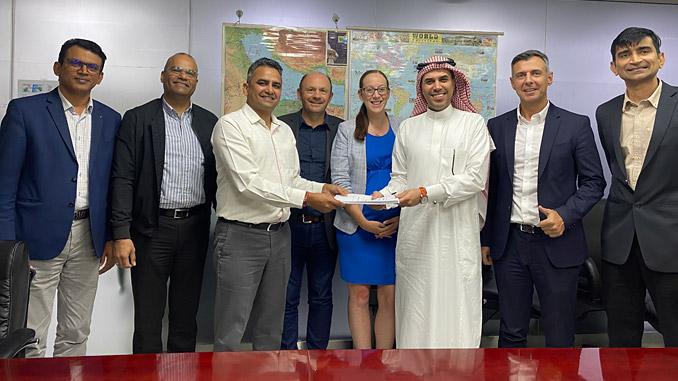 Wärtsilä and Larsen & Toubro teams signed an engineering, equipment and technical advisory order for a 44 MW power plant at the Mansourah & Massarah Gold Project mine in Saudi Arabia in March 2020