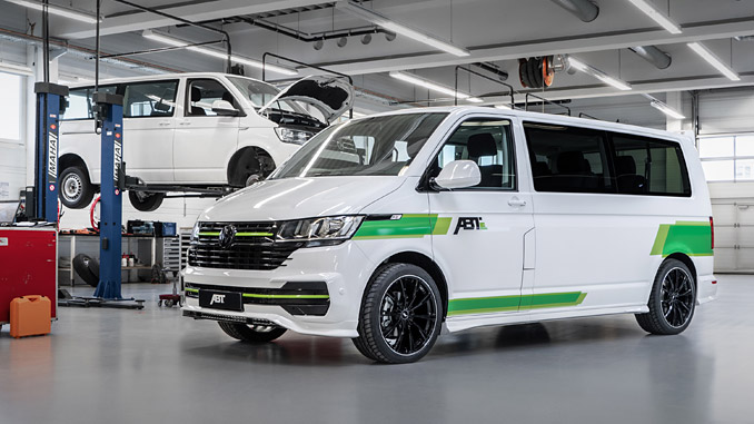 The ABT e-Transporter 6.1 – electric drive, captivating looks