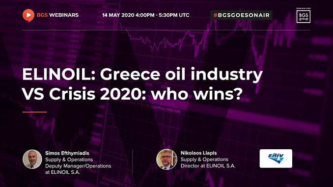 Greece oil industry VS Crisis 2020