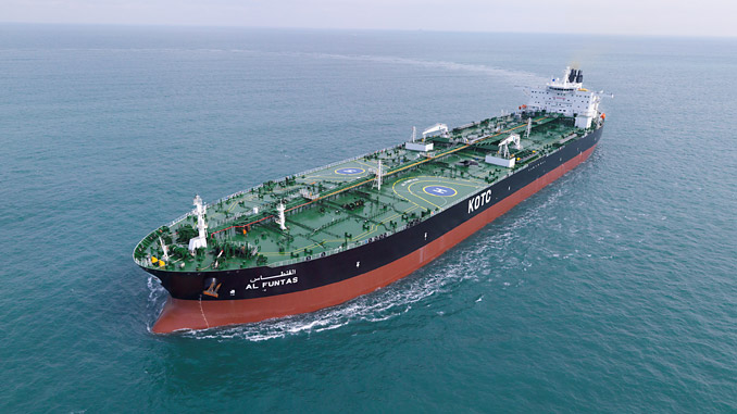 The 'M/T Al Funtas' is one of four KOTC very large crude carriers (VLCCs) to be retrofitted with the Wärtsilä Fuel Efficiency Boost (photo: KOTC)