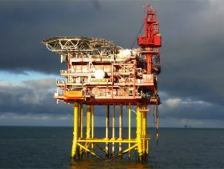 The Babbage Field platform in the Southern North Sea