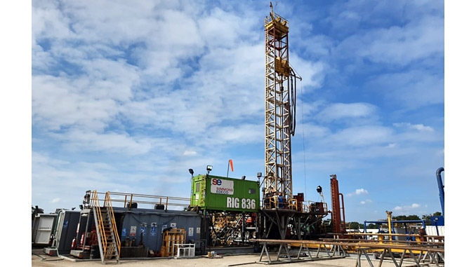A second series of wells was successfully drilled on schedule in Mexico for a major oilfield services company by Simmons Edeco, this time on Panuco Field