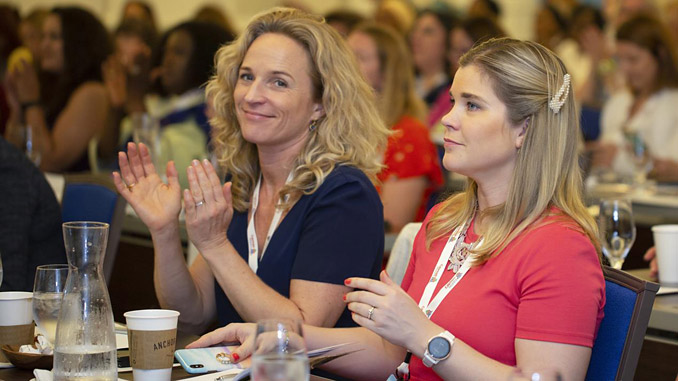 Pia Meling and Stine Mundal at WISTA AGM Cayman (photo: WISTA Norway)