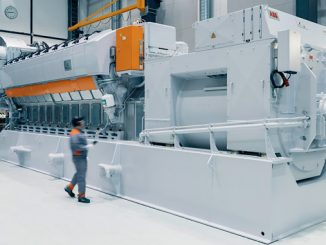 Wärtsilä 31SG generating set (photo: Wärtsilä)