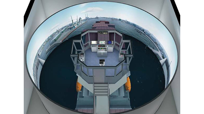 The new Wärtsilä simulator will provide realistic training for pilots at the Le Havre pilot station