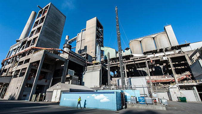 The carbon capture plant in Brevik is part of the Norwegian carbon capture demonstration project to be funded by the Norwegian government