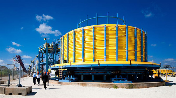 Umbilicals at Aker Solutions' facility in Mobile, Alabama